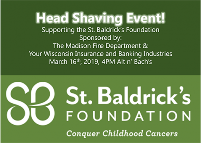 St Baldricks Event Logo - 2019